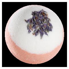 Badekugel Lavendelheide