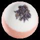 Nelumbo Kosmetik Badekugel Lavendelheide