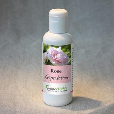 Rosen Körperlotion
