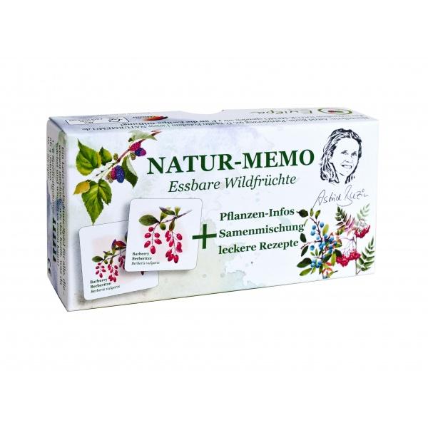 Natur- Memo Essbare Wildfrüchte